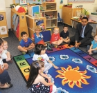 Federal official visits child care center