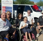 Local family gets a donated van