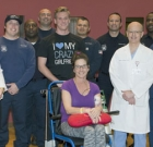 Residents offers thanks to firefighters
