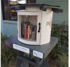 Luci's at the Orchard has Little Free Library