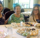 Generations of women celebrate together