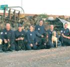 Art auction aids AZ Search Dogs