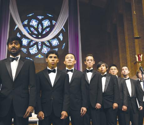 Choir bonds over music, travels the world