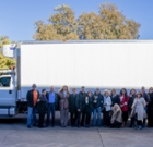 Food bank receives new truck