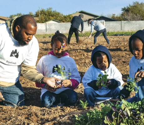 Growing gardens to help those in need