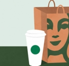 Order at drive-thrus for Starbucks, Dunkin'