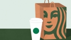 Order at drive-thrus for Starbucks, Dunkin'