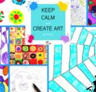 Burn calories, get artsy on schools site
