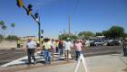 Wait times decreased at pedestrian signals