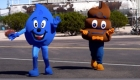 Mascot teaches kids about wastewater