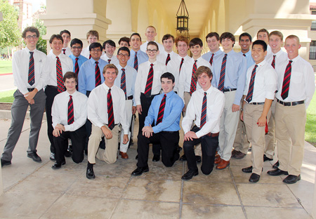 Brophy College Preparatory, an all-male Jesuit high school in North Central Phoenix, led the state with 26 National Merit Semifinalists this year, the most from any Arizona high school program (photo by Mica Mulloy).