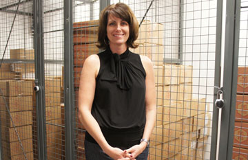 Raini Keyser, cellar manager for the new Phoenix Wine Storage, says the facility currently has about 20 members but can service up to as many as 300 (photo by Teri Carnicelli).
