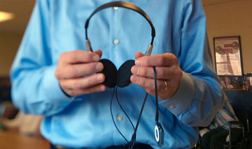"""A new documentary, """"Alive Inside,"""" shows how music can trigger memories and even speech in some people who suffer from advanced stages of dementia (photo courtesy of Bond360)."""