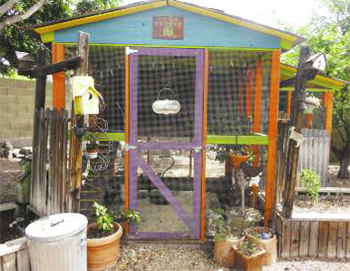 The annual Tour de Coops, set for Saturday, Nov. 8, is a self-guided tour of the Valley's most interesting, funky chicken coops (submitted photo).