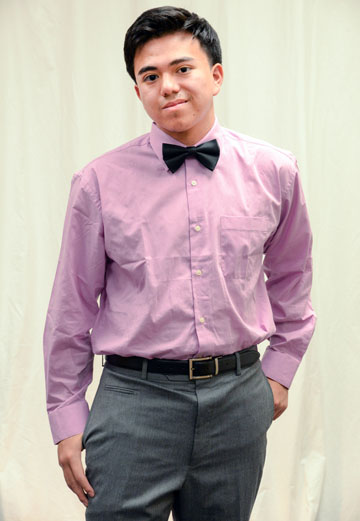 Central High School senior Angel Moreno was named the 2015 Youth of the Year for the Harry & Sandy Rosenzweig Branch of the Boys and Girls Club of Metro Phoenix (submitted photo).