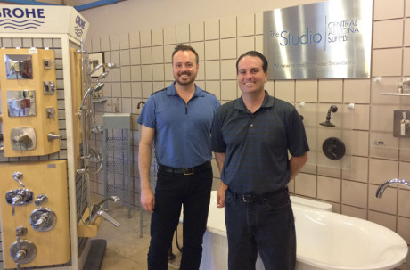 North Central resident Jeremy Smith (left) and his brother, Brandon, are the third generation of family members to run Central Arizona Supply, the plumbing industry's largest independently owned family business in the Southwest (submitted photo).