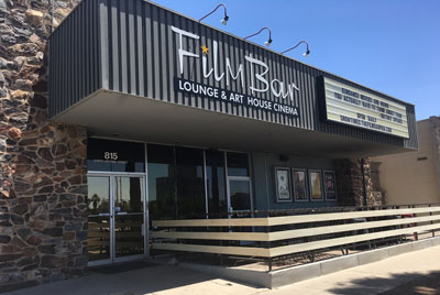 Downtown Phoenix's Filmbar recently opened a new patio space to increase seating for those who want to enjoy the beer/wine bar aspect of the independent cinema venue (submitted photo).