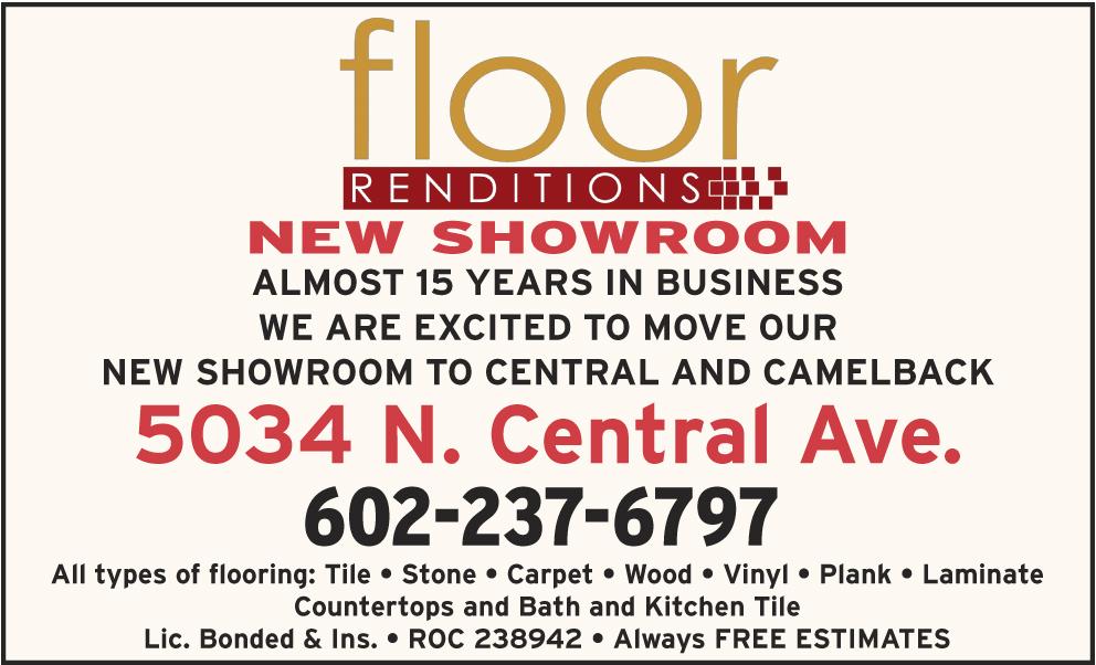 Floor Renditions
