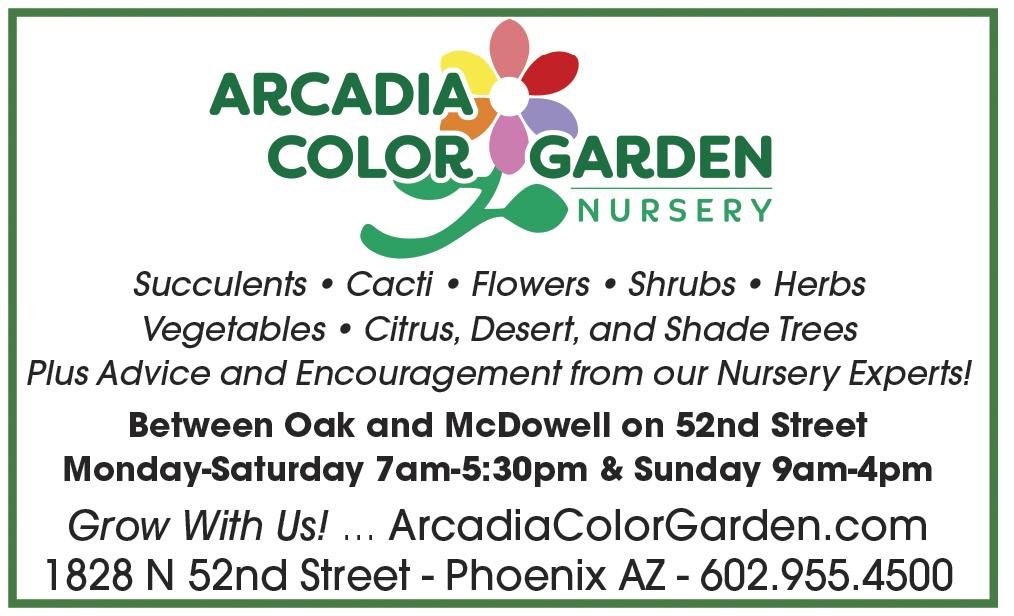 Arcadia Color Garden North Central News