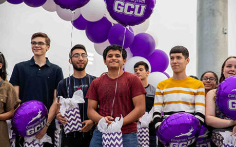 Students Surprised With Gcu Scholarships North Central News