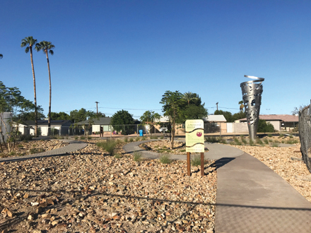 Well Site Upgrade Offers Shade And Art North Central News