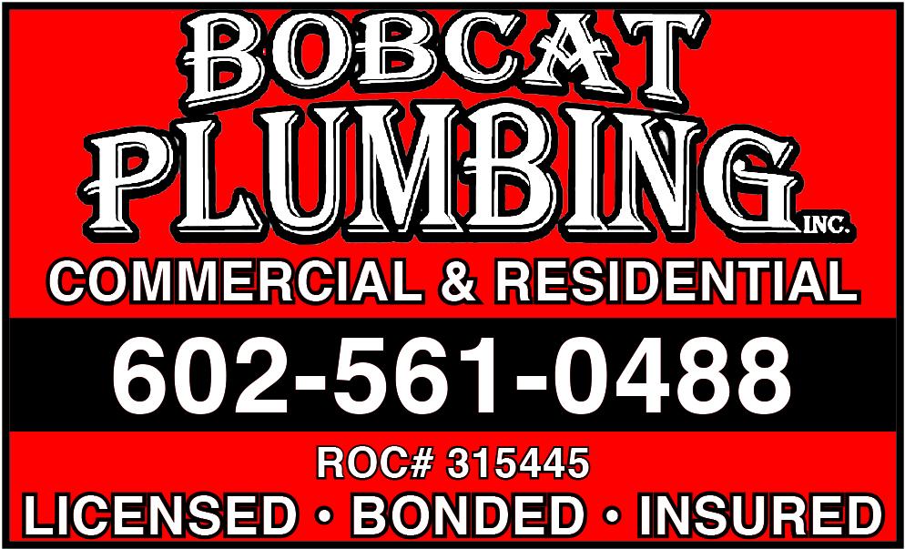 Bobcat Plumbing